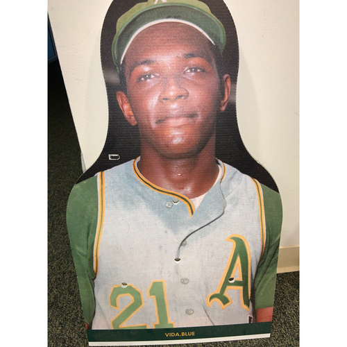 Photo of Oakland A's Community Fund: Vida Blue Coliseum Cutout
