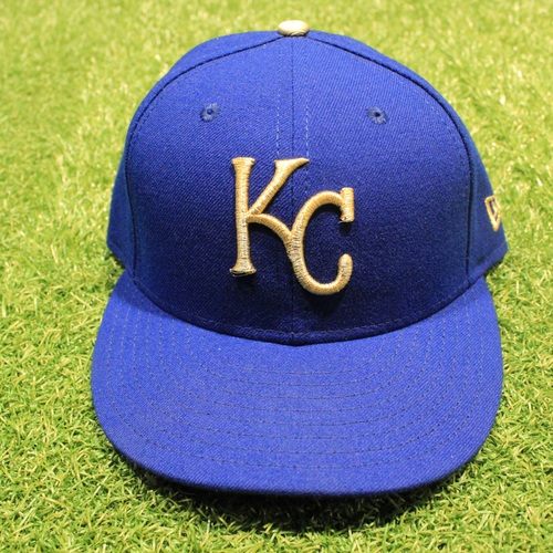 Photo of Game-Used 2020 Gold Hat: John Mabry #47 (Size 7 1/4 - DET @ KC 9/25/20)