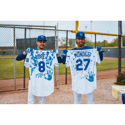 Photo of Adalberto Mondesi Paint It Blue Package