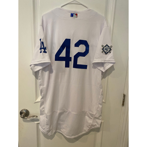 Photo of Robert Van Scoyoc Game-Used Jackie Robinson Day Jersey - Size 46