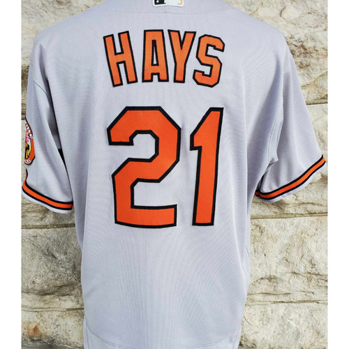 Photo of Austin Hays: Jersey (Home Run) - Game Used (9/5/21 @ Yankees)