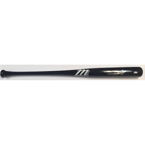 Photo of Starling Marte Autographed Marucci Bat