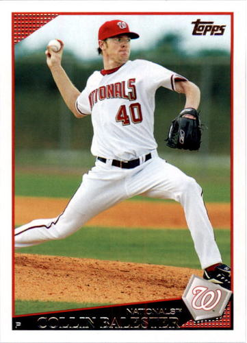 Photo of 2009 Topps #192 Collin Balester
