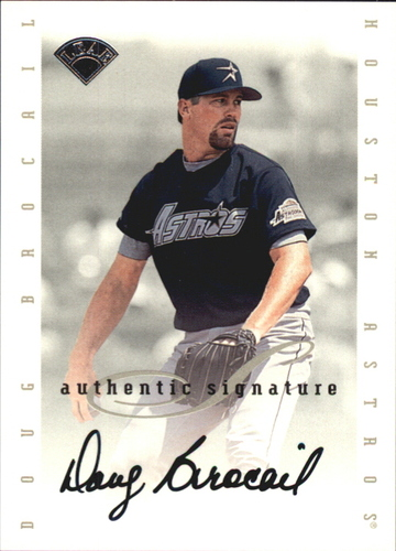 Photo of 1996 Leaf Signature Extended Autographs #18 Doug Brocail