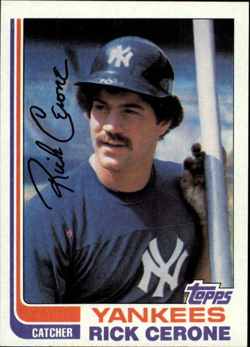 Photo of 1982 Topps #45 Rick Cerone