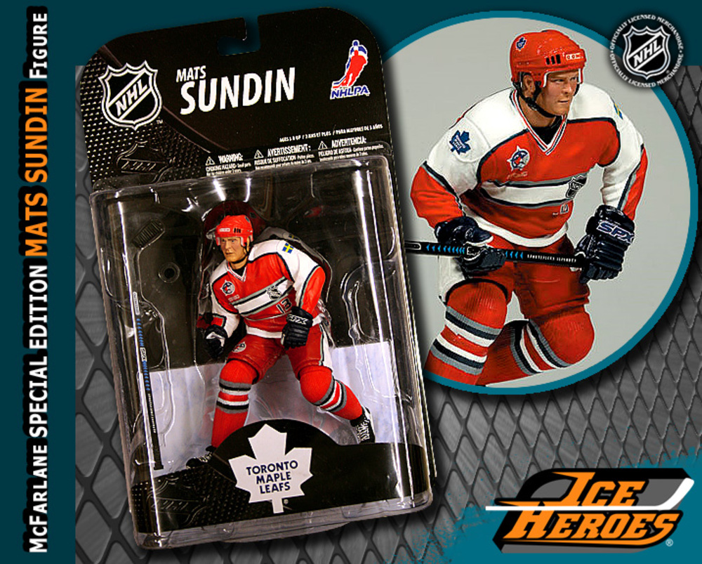 MATS SUNDIN McFarlane Special Edition 2000 All Star Action Figure - MIB - Vancouver Canucks