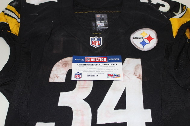 best sneakers 0921f 983c9 NFL Auction | STS - STEELERS DEANGELO WILLIAMS GAME WORN ...