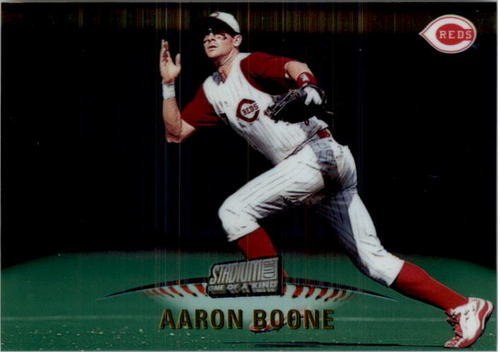 Photo of 1999 Stadium Club One of a Kind #306 Aaron Boone