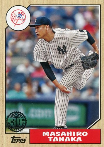 Photo of 2017 Topps '87 Topps #8768 Masahiro Tanaka