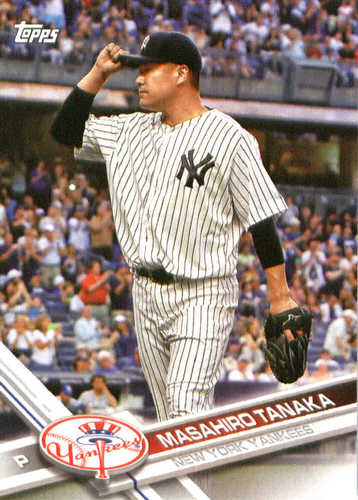 Photo of 2017 Yankees Topps #NYY6 Masahiro Tanaka