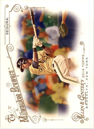 Photo of 2014 Topps Allen and Ginter #156 Jean Segura