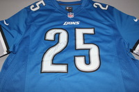 LIONS - THEO RIDDICK SIGNED LIONS REPLICA JERSEY - SIZE L