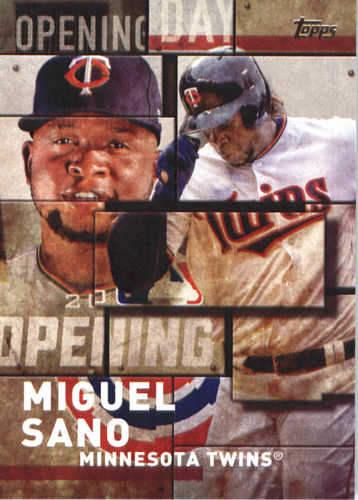 Photo of 2018 Topps Opening Day Insert #OD4 Miguel Sano