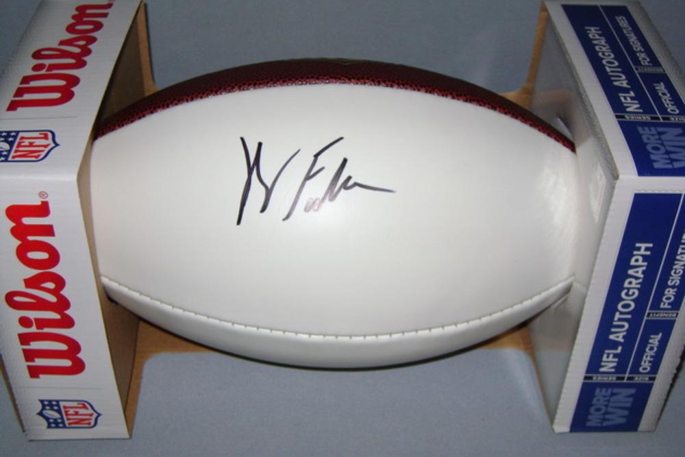 NFL -WASHINGTON FOOTBALL TEAM  KENDALL FULLER SIGNED PANEL BALL