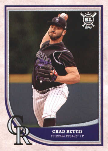 Photo of 2018 Topps Big League #253 Chad Bettis
