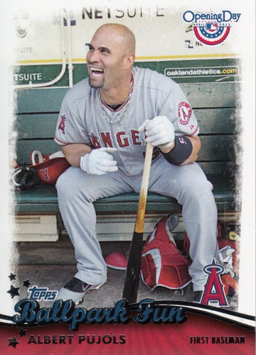Photo of 2013 Topps Opening Day Ballpark Fun #BF13 Albert Pujols