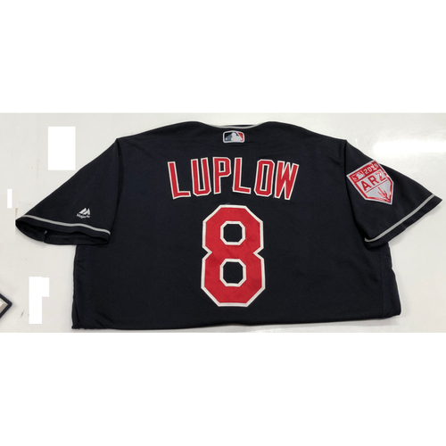 Photo of Jordan Luplow 2019 Game-Used  Spring Training Jersey