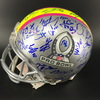 NFL - 2019 Pro Bowl Multi Signed Helmet over 50 Signatures Including: Andrew Luck, Adam Thielen, Deshaun Watson, Mitch Trubisky, Alvin Kamara, Eric Weddle, James Conner, TJ Watt