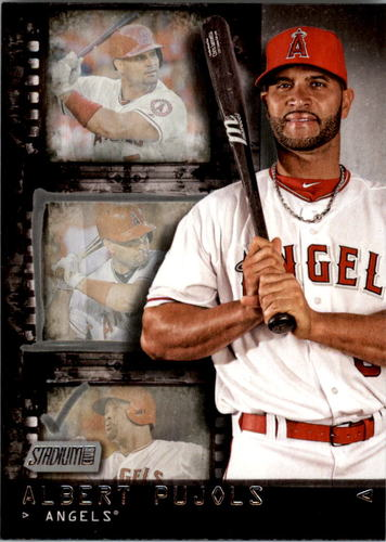 Photo of 2016 Stadium Club Contact Sheet #CS4 Albert Pujols
