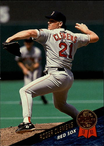 Photo of 1993 Leaf #279 Roger Clemens