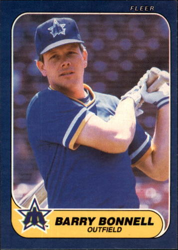 Photo of 1986 Fleer #460 Barry Bonnell