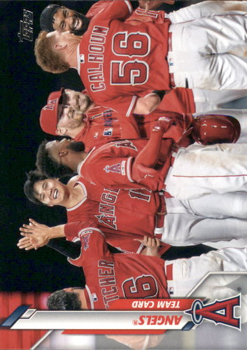 Photo of 2020 Topps #19 Los Angeles Angels TC