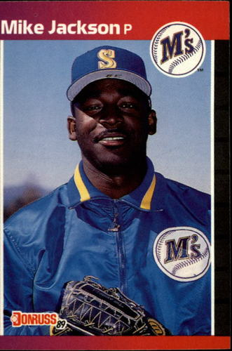 Photo of 1989 Donruss #652 Mike Jackson