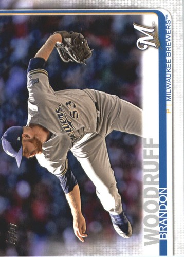 Photo of 2019 Topps #687 Brandon Woodruff