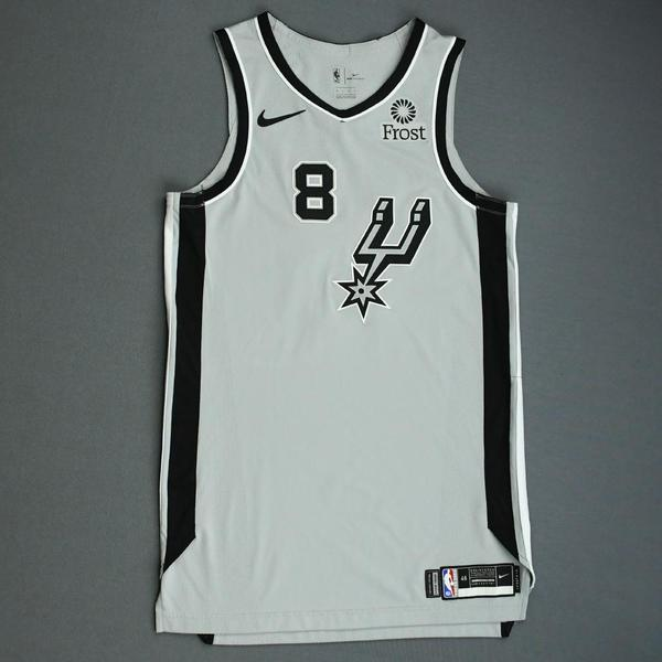 Image of Patty Mills - San Antonio Spurs - Game-Worn Statement Edition Jersey - NBA Mexico Games - Scored a Game-High 26 Points - 2019-20 NBA Season