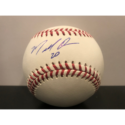 Photo of Marcell Ozuna MLB Authenticated Autographed Baseball