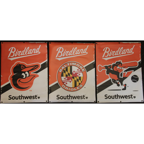 Photo of Set of 3 Street Banners from the 2019 Season