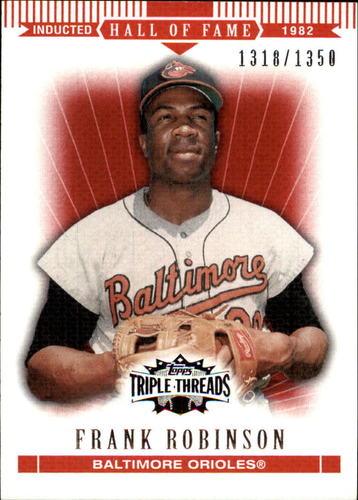 Photo of 2007 Topps Triple Threads #31 Frank Robinson