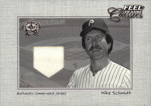 Photo of 2001 Greats of the Game Feel the Game Classics #19 Mike Schmidt Jsy