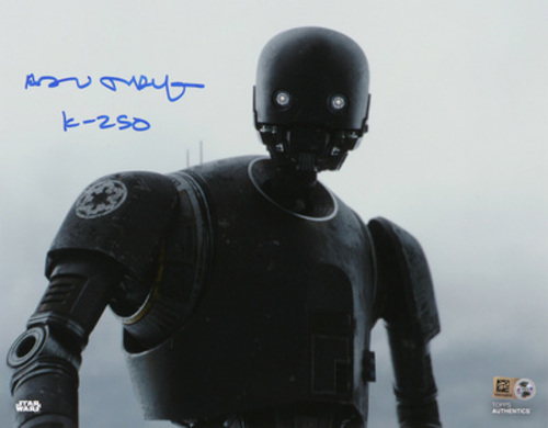 Alan Tudyk as K-2SO 8x10 Autographed Inscribed