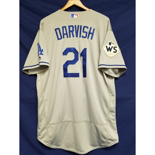 Photo of Yu Darvish 2017 Road World Series Team-Issued Jersey