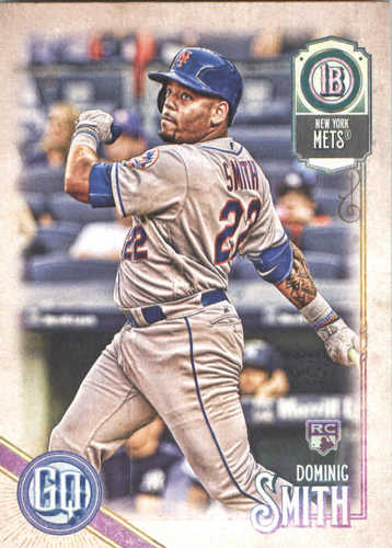 Photo of 2018 Topps Gypsy Queen #114 Dominic Smith RC