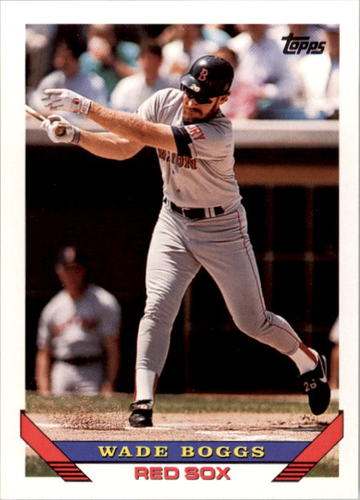 Photo of 1993 Topps #390 Wade Boggs
