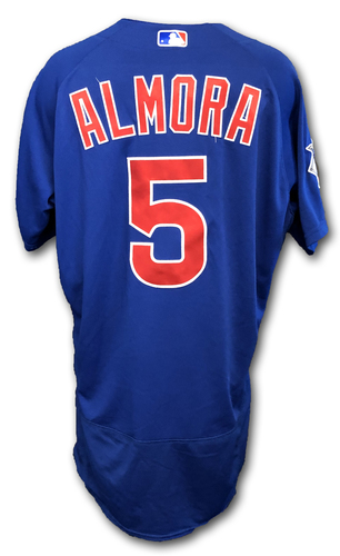Photo of Albert Almora Team-Issued Jersey -- Size 44 -- Spring Training 2019
