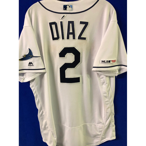 Photo of 2019 Opening Day Game Used Jersey: Yandy Diaz - March 28, 29, 30 v HOU, April 1, 2 v COL, April 17 v BAL - 2 TOTAL HOME RUNS
