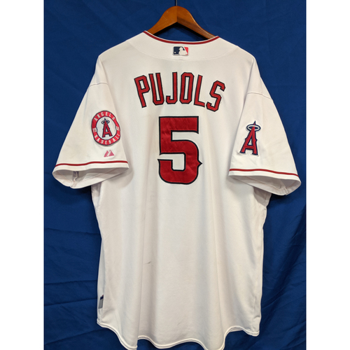 Photo of Albert Pujols Game-Used 2014 Home Jersey