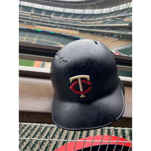 Photo of 2019 Game-used Batting Helmet - Miguel Sano #22 - 9HR's from 5/16-6/22