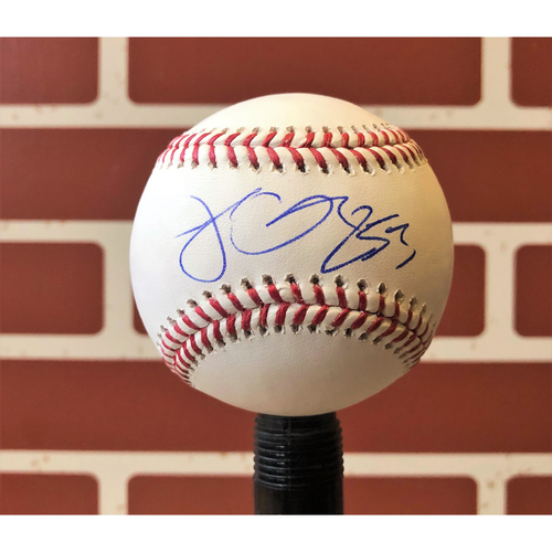 Photo of Jesse Chavez Autographed Baseball