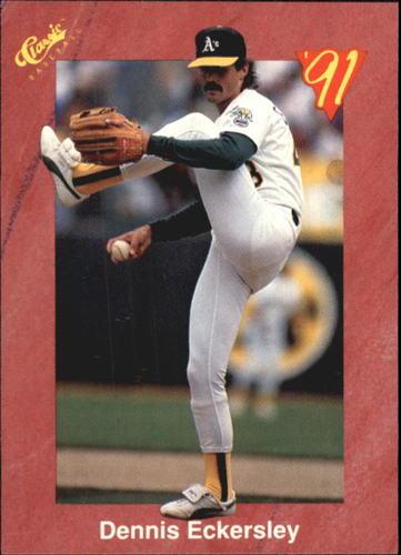 Photo of 1991 Classic II #T18 Dennis Eckersley