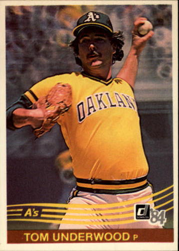 Photo of 1984 Donruss #253 Tom Underwood