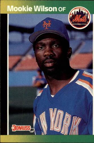 Photo of 1989 Donruss #152 Mookie Wilson