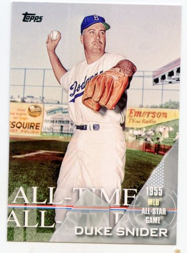 Photo of 2017 Topps All Time All Stars #ATAS18 Duke Snider