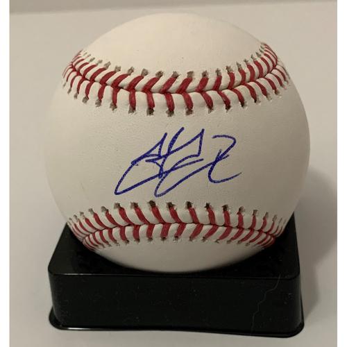 Photo of Hector Rondon Autographed Baseball