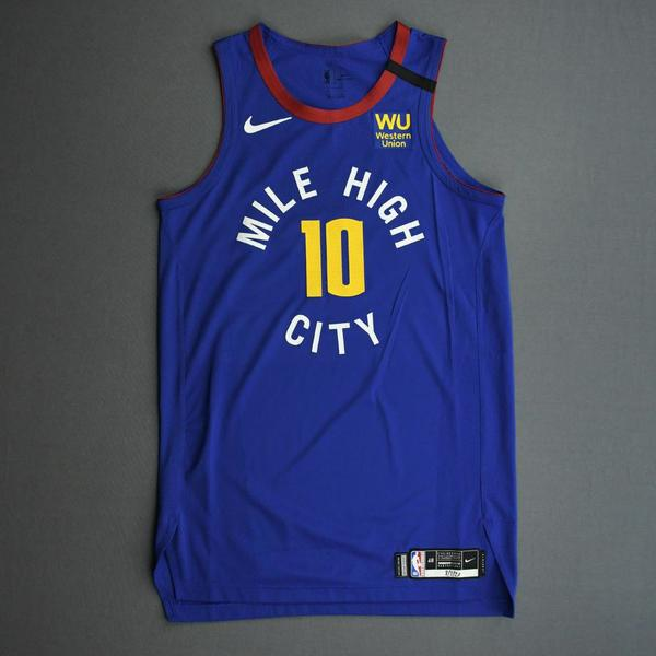 Image of Bol Bol - Denver Nuggets - Game-Worn Statement Edition Jersey - NBA Debut - 2019-20 NBA Season Restart