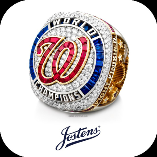Washington Nationals Philanthropies Fall Ball Auction: 2019 World Series Ring