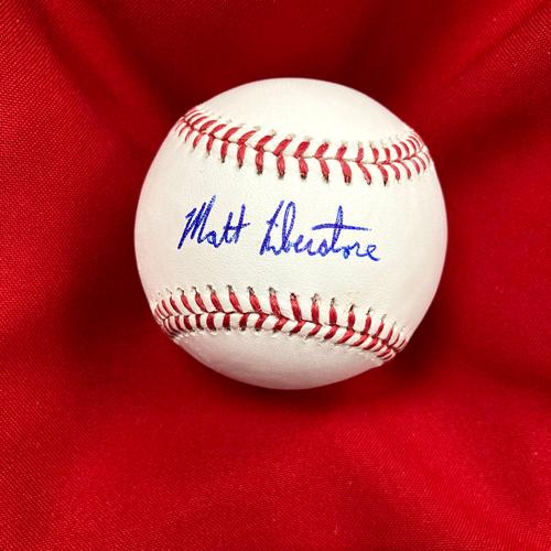 Photo of Matthew Liberatore Autographed Baseball